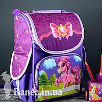 Школьный ранец ортопедический для девочки Принцесса  пони  рюкзак Pony
