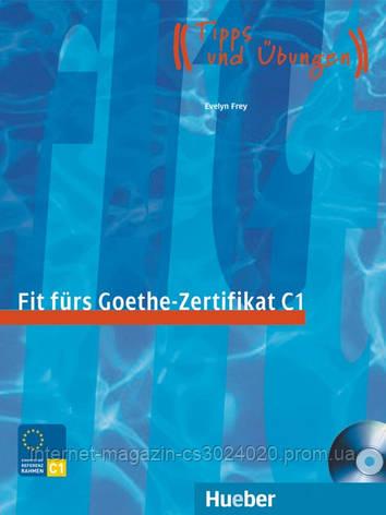 Fit fürs Goethe-Zertifikat C1, Lehrbuch mit integrierter Audio-CD ISBN: 9783190018758, фото 2