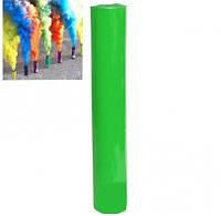 Цветной дым для фотосессий зеленый ДК-60 (дымовая шашка). Время работы 60 сек.