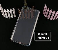 Прозрачный силиконовый чехол для Xiaomi redmi Go