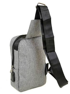 Мужская сумка на плечо Lanpad 815-1 grey, фото 2