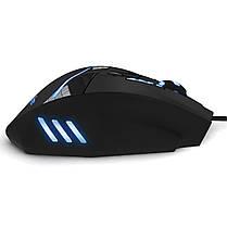 ✓ Мышь игровая Zelotes Т-60 LED подсветка проводная юсб 3200 DPI 7 кнопок покрытие Soft-touch, фото 3