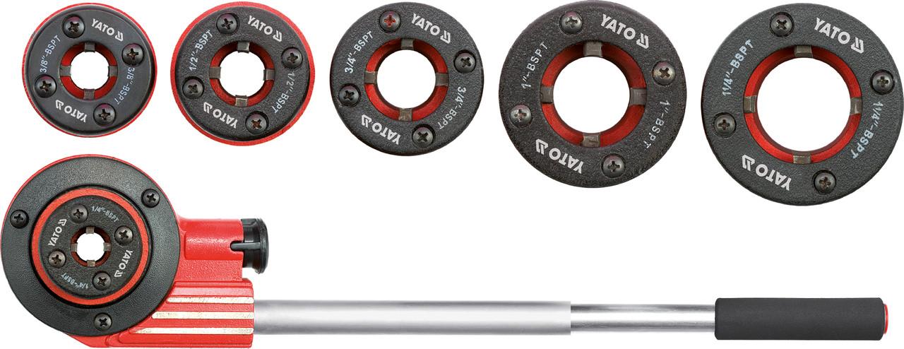 Набор клуппов трубных 7 предметов YATO YT-2900