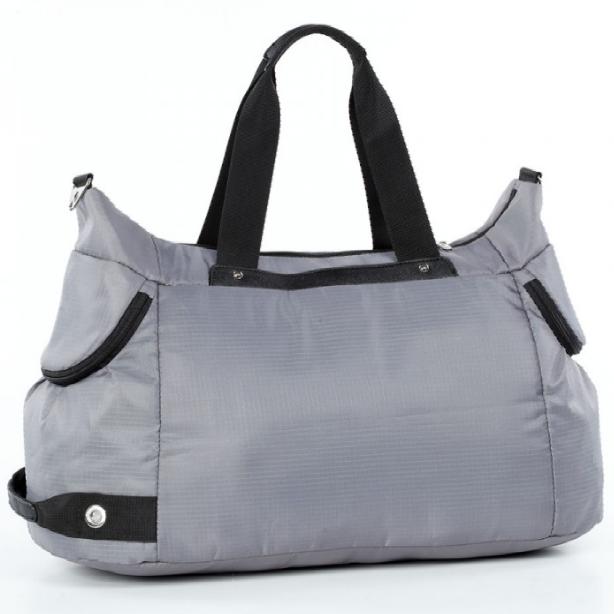 Спортивная сумка Долли болоньевая серая