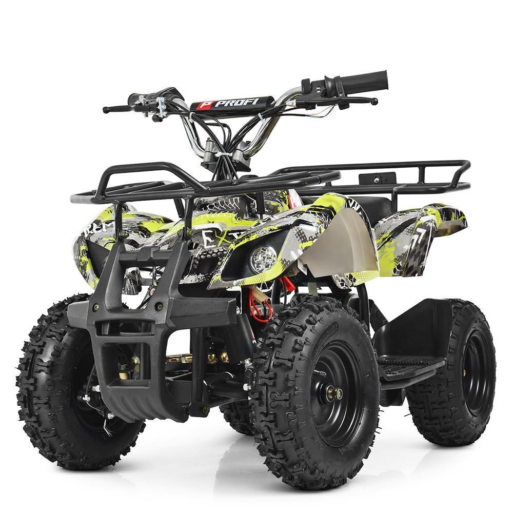 Квадроцикл HB-EATV800N-NEW7 V2 Сіро - салатовий BAMBI