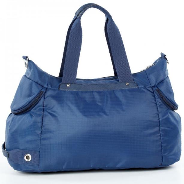 Спортивная сумка Долли болоньевая синяя женская