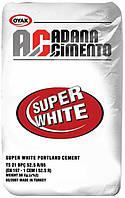 Цемент белый ADANA 25 кг