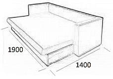 Прямой диван Изабель, фото 3