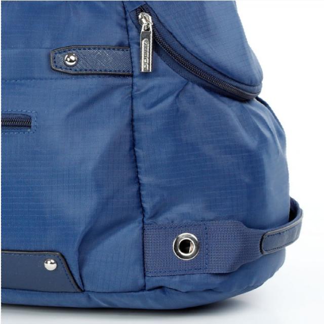 Спортивная сумка Долли болоньевая синяя