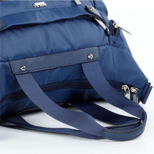 Спортивная сумка Долли болоньевая синяя крепкая