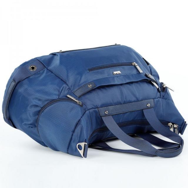 Спортивная сумка Долли болоньевая синяя мужская