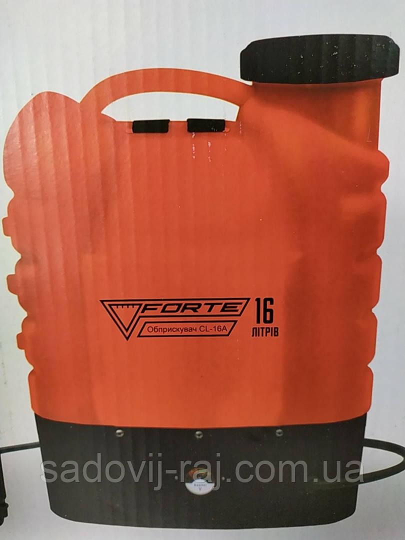 Обприскувач акумуляторний ФОРТЕ / Опрыскиватель аккумуляторный  Forte CL-12A -  12 л