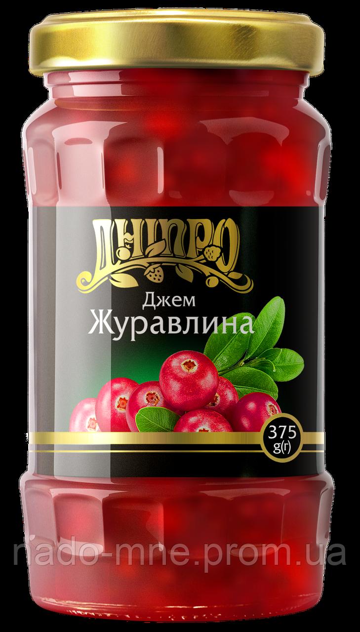 Джем Клюква, 465 г ТМ Дніпро