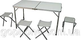 Комплект мебели для пикника (Стол + 4 стула)