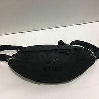 c924ba01128a Поясная сумка черная Nike 4 отделения (Бананка, Сумка на пояс, сумка на  плечо