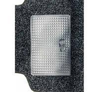 Авто коврики ворсовые для ВАЗ 2110/11/12/Priora (логотип LADA) +перемычка антрацит крошка Carrera