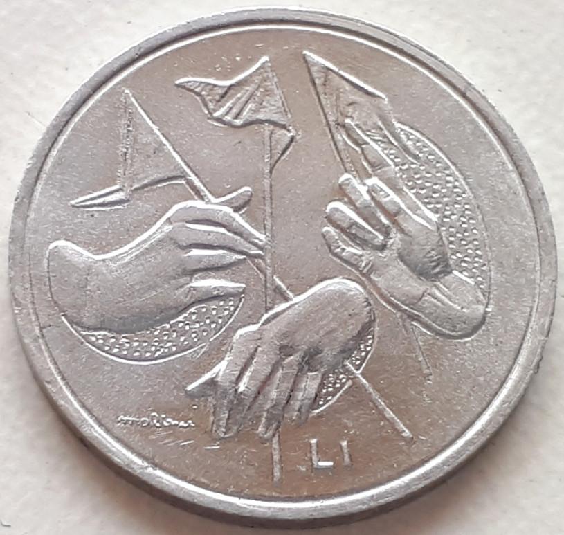 Сан-Марино 1 лира 1976