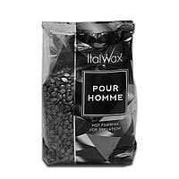 Воск горячий (пленочный) ITALWAX Silver в гранулах Pour Homme