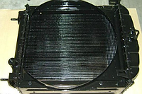 Радиатор ЮМЗ 4-х рядн алюминий