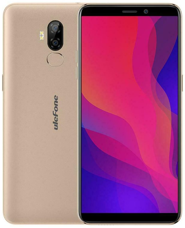 UleFone Power 3L 2/16 Gb gold, NFC