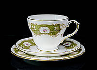 Чашка блюдце тарелка, фарфор Англия Duches BONE CHINA, фото 1