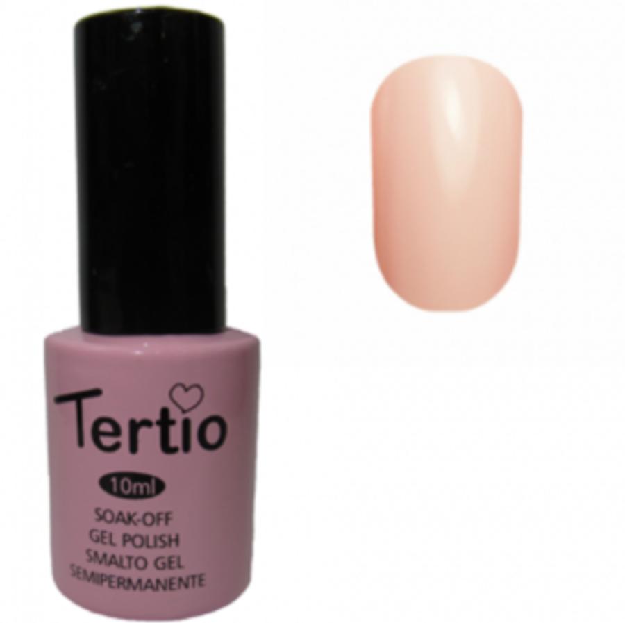 Гель-лак Tertio № 097 (бледная нежно-розовая эмаль)