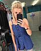 Женский летний комбинезон на кнопках шортами, фото 5