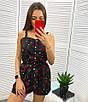 Женский летний комбинезон на кнопках шортами, фото 6
