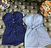 Женский летний комбинезон на кнопках шортами, фото 2