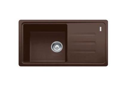 Мойка для кухни коричневая 78*43,5*20 см ADAMANT SLIM LONG