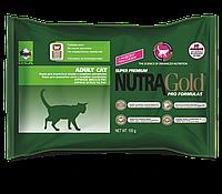 Корм для кошек Nutra Gold Hairball Adult 30х100г