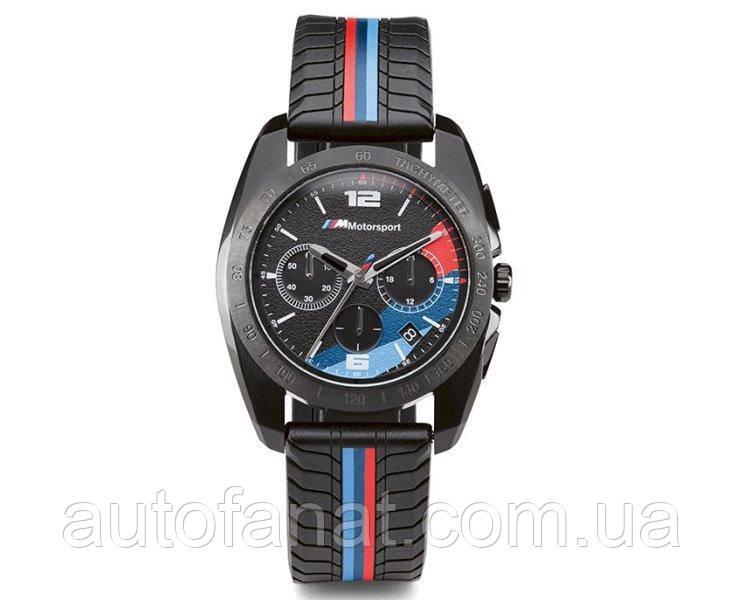 Оригінальний чоловічий хронограф BMW M Motorsport Watch Chrono, Men, Black (80262463267)