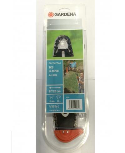 Сменный комплект шина+цепь для цепных высоторезов Gardena