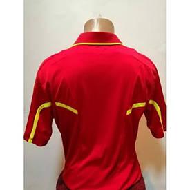 Футболка судейская красно-жёлтая
