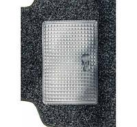 Авто коврики ворсовые для ВАЗ 2108/09/13-15 (логотип LADA) +перемычка антрацит крошка Carrera