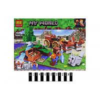 """Конструктор Bela 11130 """"Скарбниця в лісі біля водоспаду"""" (аналог Lego Майнкрафт, Minecraft), 162 дет"""