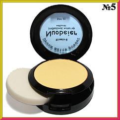 Компактная Пудра для Лица Nuobeier Natural с Витамином Е и SPF 20 Матовая Бежевая Тон 05