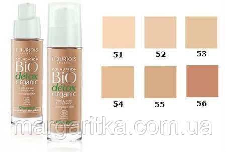 Тональный крем Bourjois Bio Detox Organic 30ml (Копия)