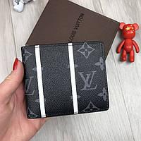 49721c01e239 Трендовый кошелек Louis Vuitton серый мужской Турция Люкс портмоне Стильный  Брендовый Луи Виттон копия
