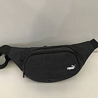 d83a4b8de2c5 Поясная сумка черная Puma 2 отделения (Бананка, Сумка на пояс, сумка на  плечо