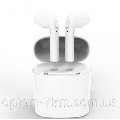 Беспроводные наушники I7s TWS Bluetooth c кейсом  am