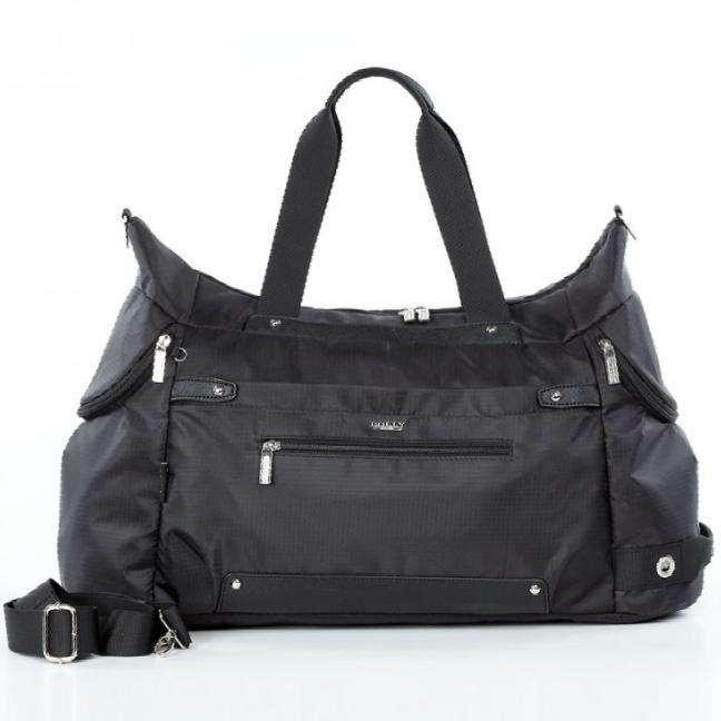 Спортивная сумка Dolly 940 L-58 см. W-26 см. H-32 см. Чёрный