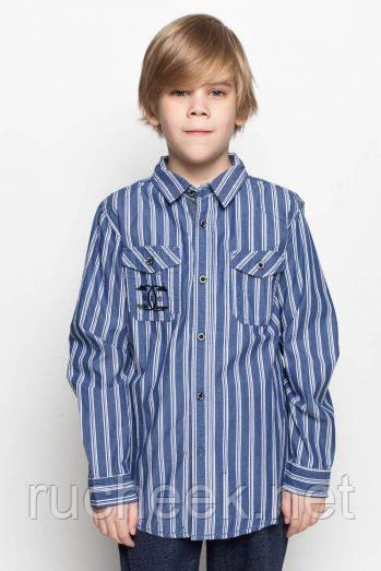 Рубашка с длинным рукавом на мальчика. Glo-story BCS-9672