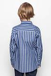 Рубашка с длинным рукавом на мальчика. Glo-story BCS-9672, фото 2
