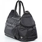 Спортивная сумка Dolly 940 L-58 см. W-26 см. H-32 см. Чёрный, фото 5
