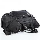 Спортивная сумка Dolly 940 L-58 см. W-26 см. H-32 см. Чёрный, фото 7