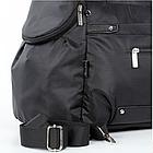 Спортивная сумка Dolly 940 L-58 см. W-26 см. H-32 см. Чёрный, фото 8