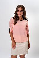 Женская блузка с удлиненной спинкой, фото 1