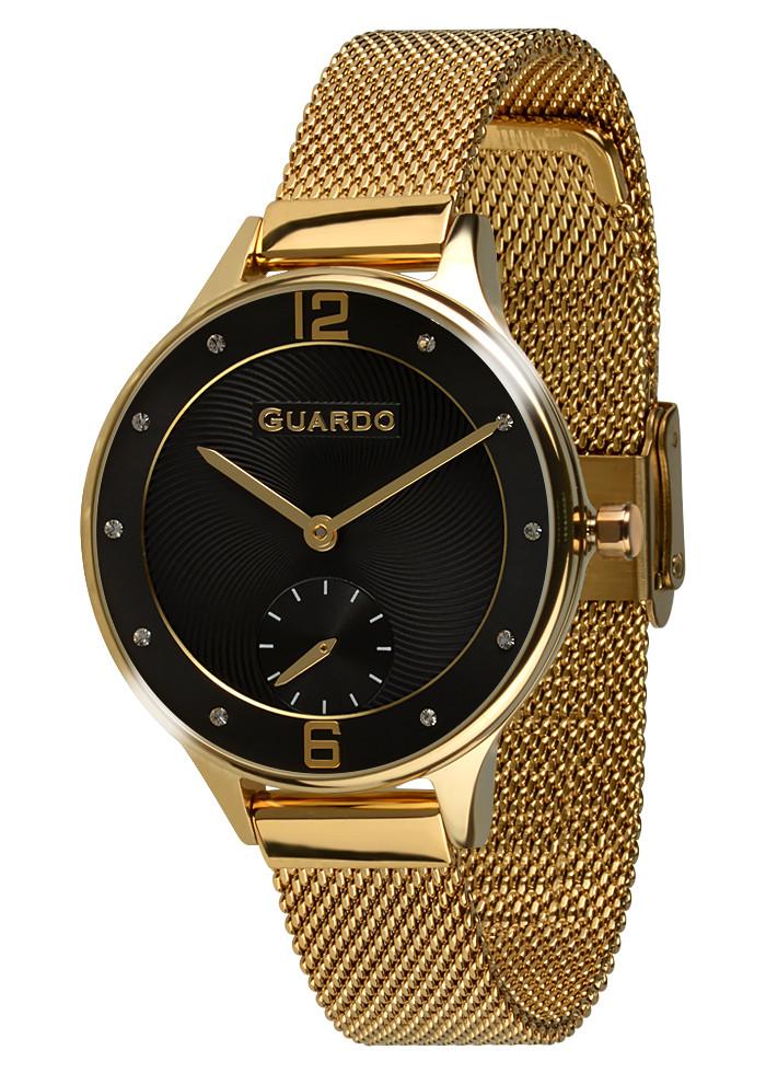 Жіночі наручні годинники Guardo P11636(m) 1-GB