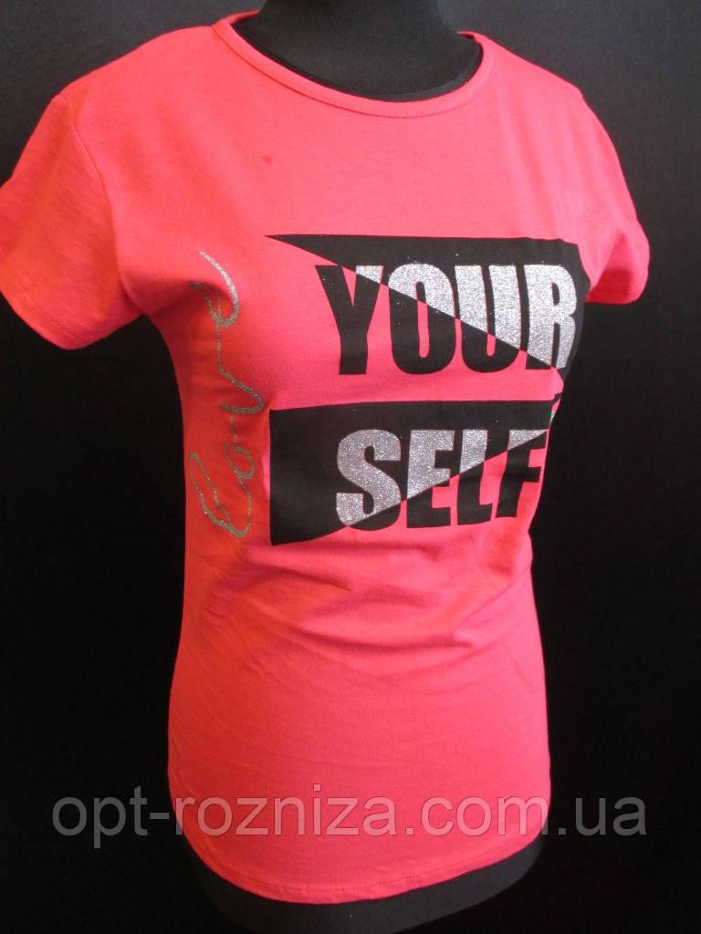 Красивые хлопковые футболки для девушек